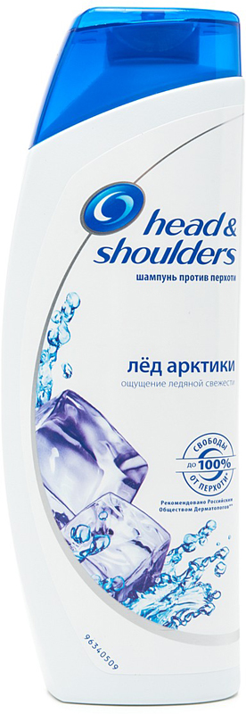 Шампунь Head & Shoulders против перхоти Ментол, 400 мл.