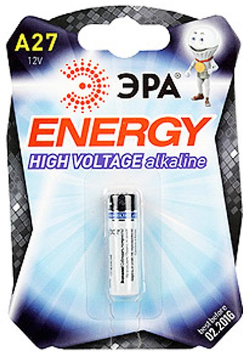 45358fc09f86 Батарейка ЭРА щелочная (алкалиновая) A27-1BL Alkaline, 1 шт.