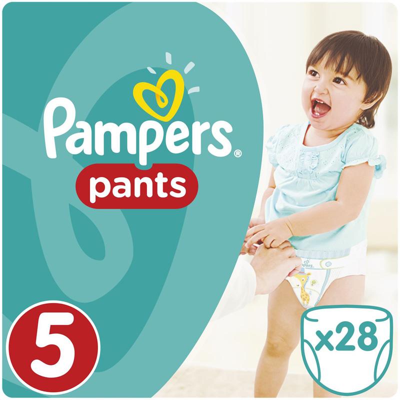 f7eb4cbf87bb Подгузники-трусики Pampers (Памперсы) Pants Junior 5 (12-18 кг), 28 шт