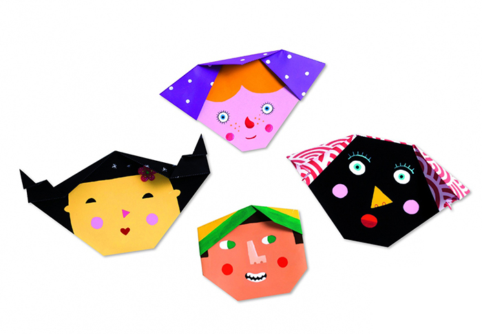 How To Make Origami Face Origamimakeorg