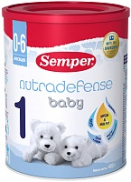 Смесь Semper Baby ND 1 Nutradefense 1, с 0 до 6 мес., 400 гр.