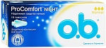 Тампоны O.b. ProComfort, Night Нормал 16 шт